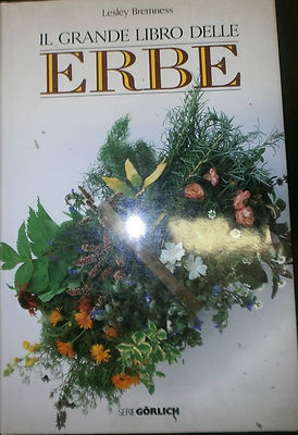 IL GRANDE LIBRO DELLE ERBE, Lesley Bremness, De Agostini 1988