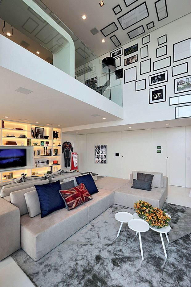 Loft clean e moderno! Por HobbyDecor |Instagram.com/hobbydecor | #decor #decoração #design