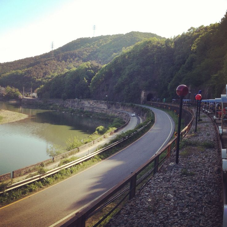 Railbike countryside at gyeonggi..