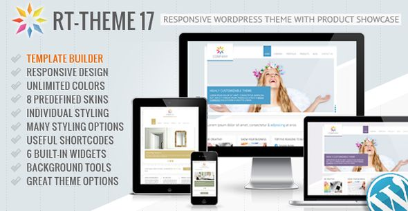 RT-Theme 17 Responsive Wordpress Theme - ThemeForest Item for Sale