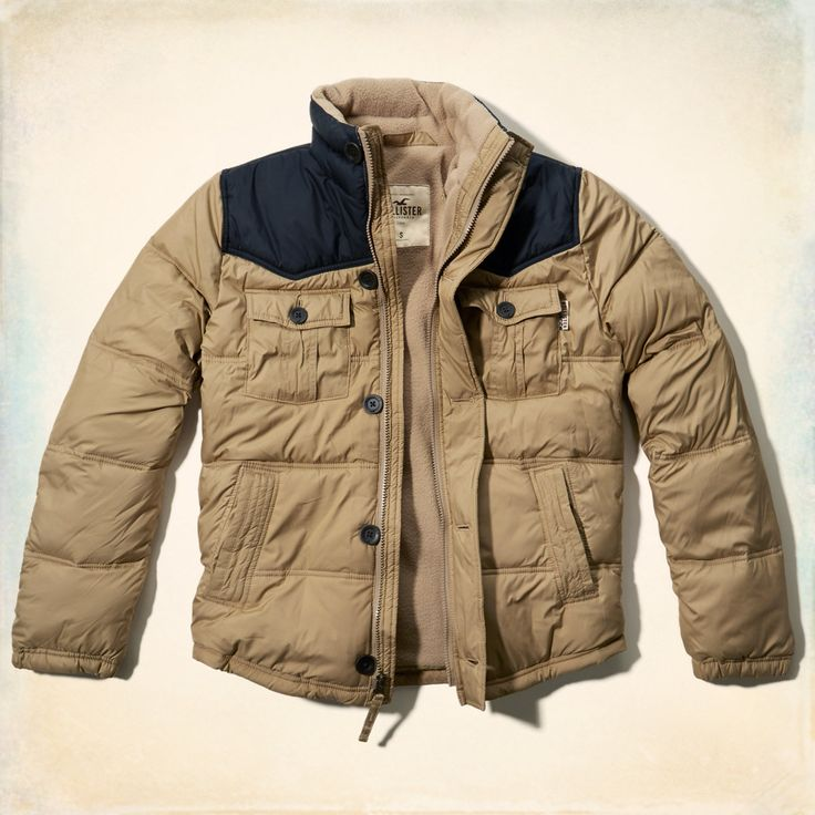 Guys Mission Beach Heritage Coat   Guys Outerwear   HollisterCo.com
