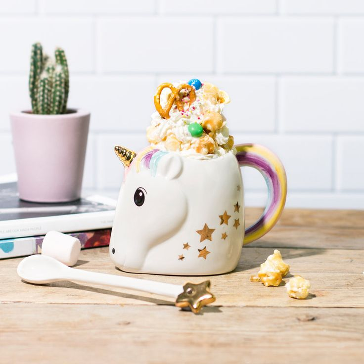 If there's one thing we can't stand at Firebox ndash it's mugs and unicorns. Absolutely hate them. Juuust messing. Meet the latest addition to our ever-growing