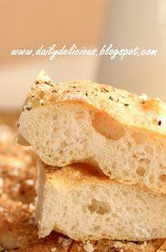dailydelicious: Happy Cooking with LG SolarDom: Baking Italian bread, Focaccia
