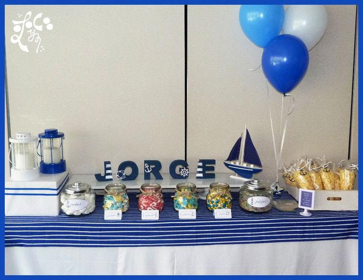 Mesa dulce comunion marinero valencia mesas de chuches for Decoracion bodas valencia
