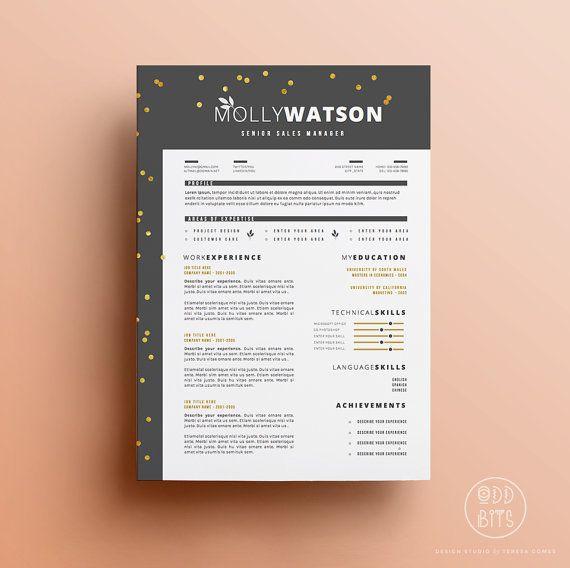 26 best images about cv on Pinterest Behance, Graphic design - resume setup