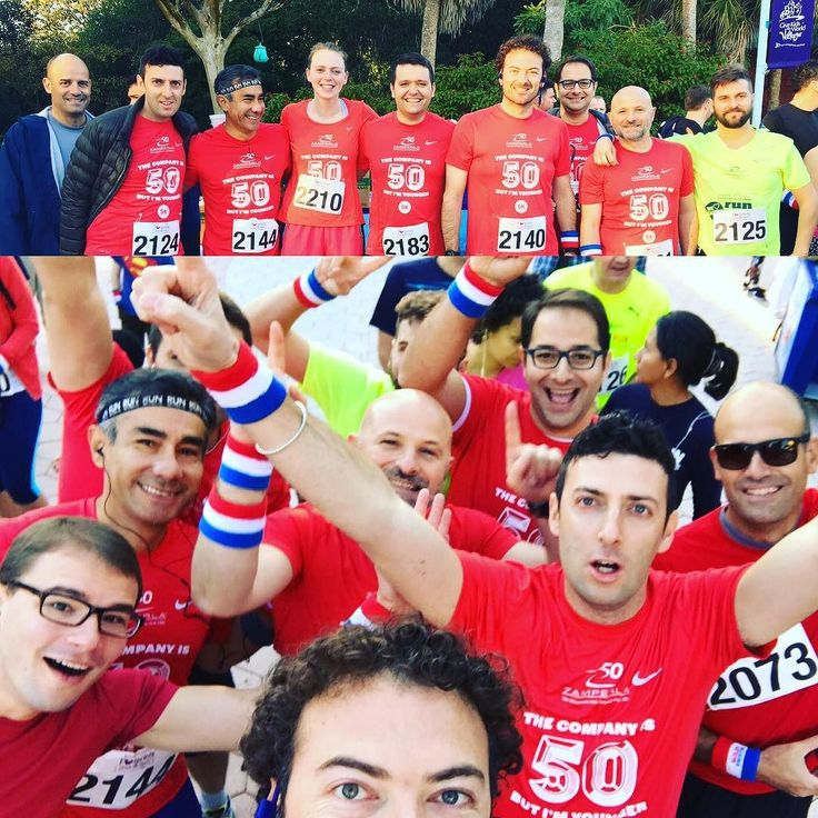 Day number 3? #IAE16 bring it on! No better way to start the day with a run for kids! #GKTW #love #kids #race #run #orlando #red #globetrotters #fun #iae16 #IAAPA