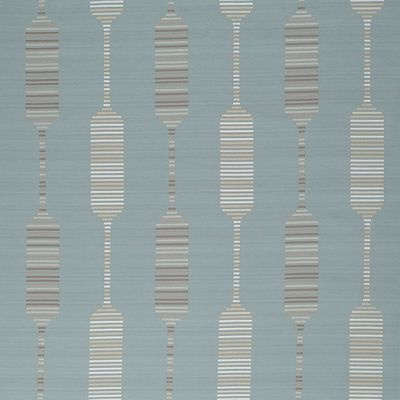 Fusion curtain fabric by Montgomery in 21 Duckegg