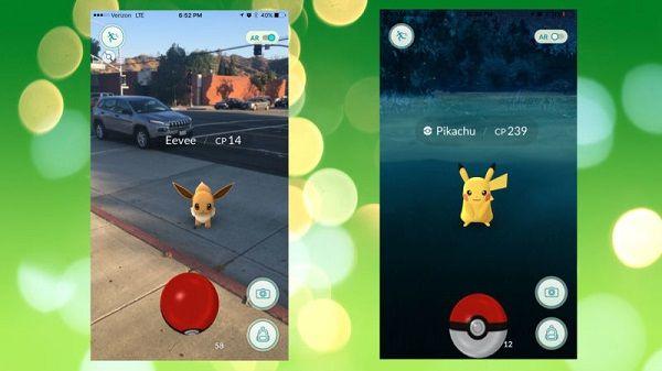 Pokémon Go, con personajes clásicos de la serie