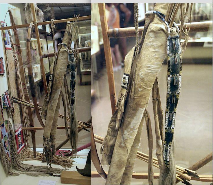 S. Plains bowcase-quiver, perhaps Cheyenne, Karl May Mus. ac