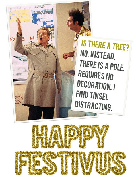 Happy Festivus 2011 by m33belowzero, via Flickr