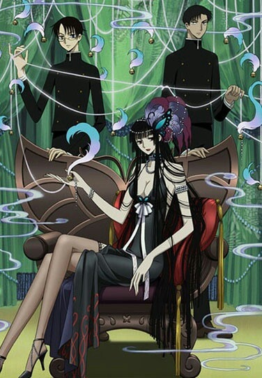 xxxHolic ~~~ A butterfly and the two young men brought together by in her plans.