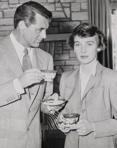 Cary Grant and Betsy Drake December 25, 1949