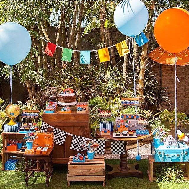 Festa picnic super bacana com tema Aviões da Disney. Por @joanaemaria #kikidsparty