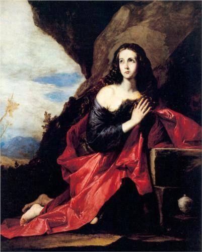 Maria Maddalena nel deserto, opera di Jusepe de Ribera che si trova al Museo del Prado