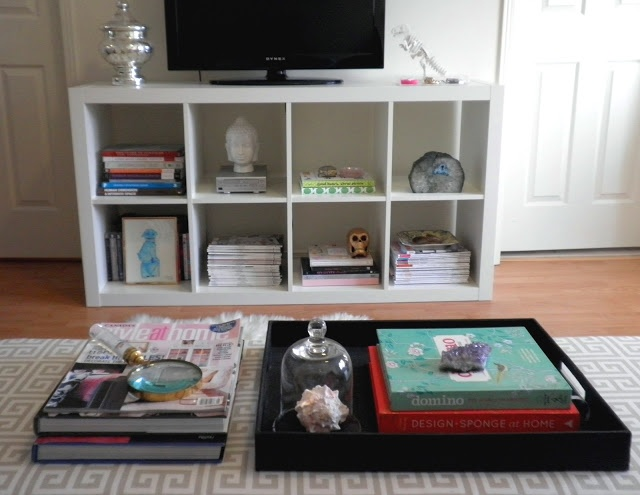 Ikea Expedit as TV Console