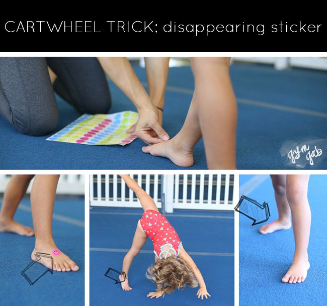 Three tricks to try to helping your kid learn to cartwheel. Click through for the other 2!
