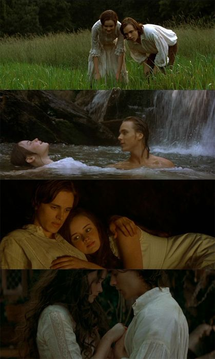"Jonathan Jackson and Alexis Bledel portray the characters of Jesse Tuck and Winnie Foster repectively in the movie ""Tuck Everlasting""....."
