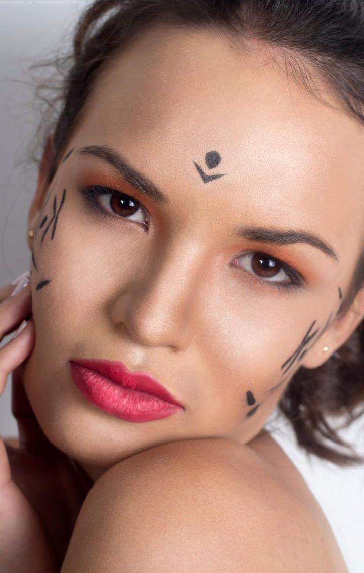 #Makeup #cosmetic #beauty #face #perfeccion #perfection para #fotografia de #moda #fashionmakeup
