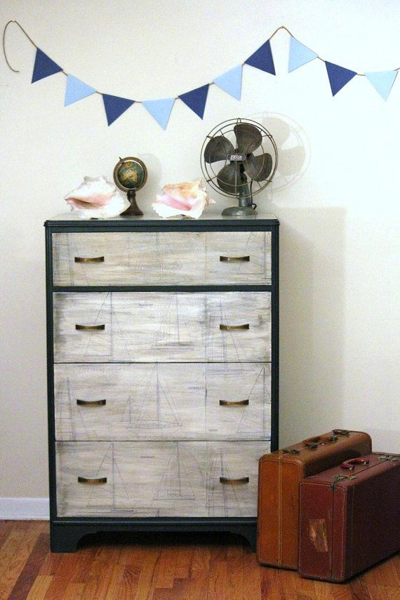Vintage Nautical Dresser By Lavanttehome On Etsy 465 00