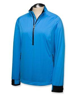 Torque Cutter & Buck Ladies and Plus Size CB WeatherTec Elite Half-Zip Golf Jacket at #lorisgolfshoppe