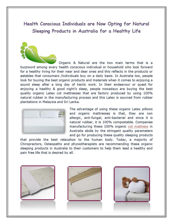 Cot Mattress Made Without Any Harmful Chemicals Visit Our Website For More Details