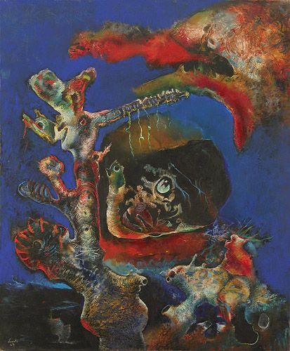 History of Art: Enrico Donati - Minotaure