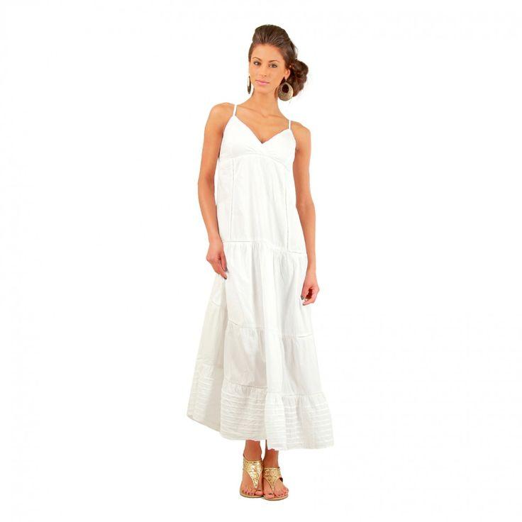 Robe longue blanche été   Lesateliersduchangement e431c9998d0a