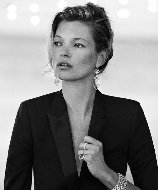 Kate Moss by Peter Lindbergh for David Yurman| @andwhatelse