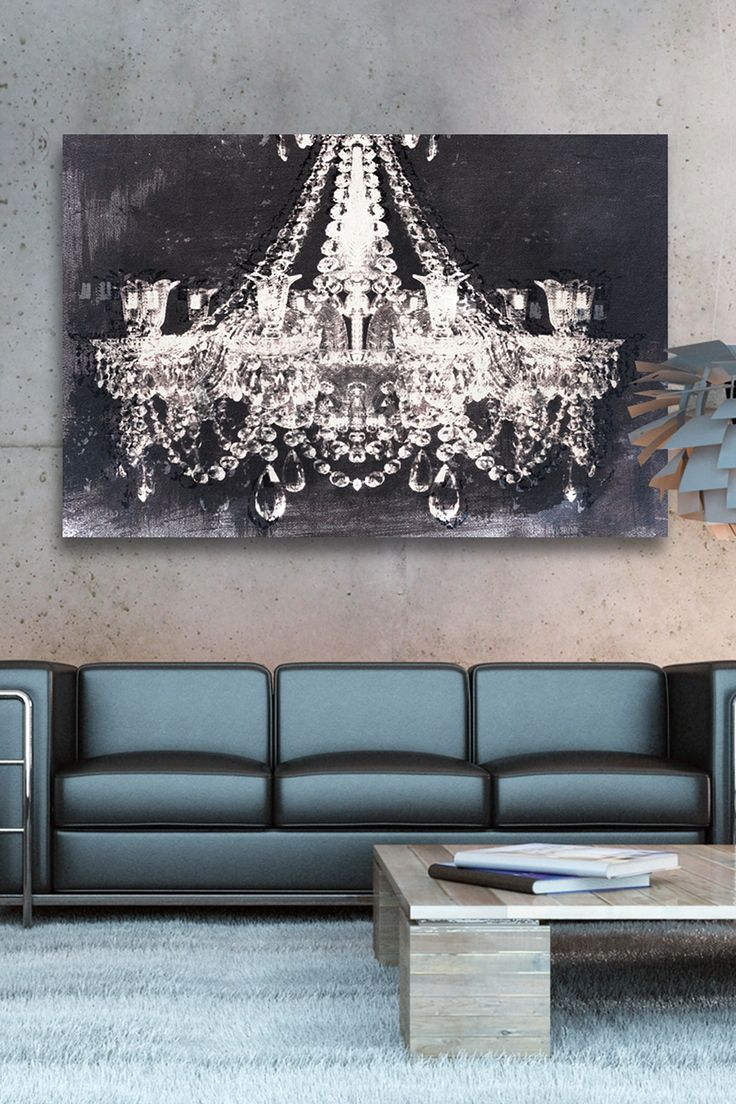 Wall Art And Decor For Living Room: Oliver Gal Dramatic Entrance Night Canvas Wall Art On