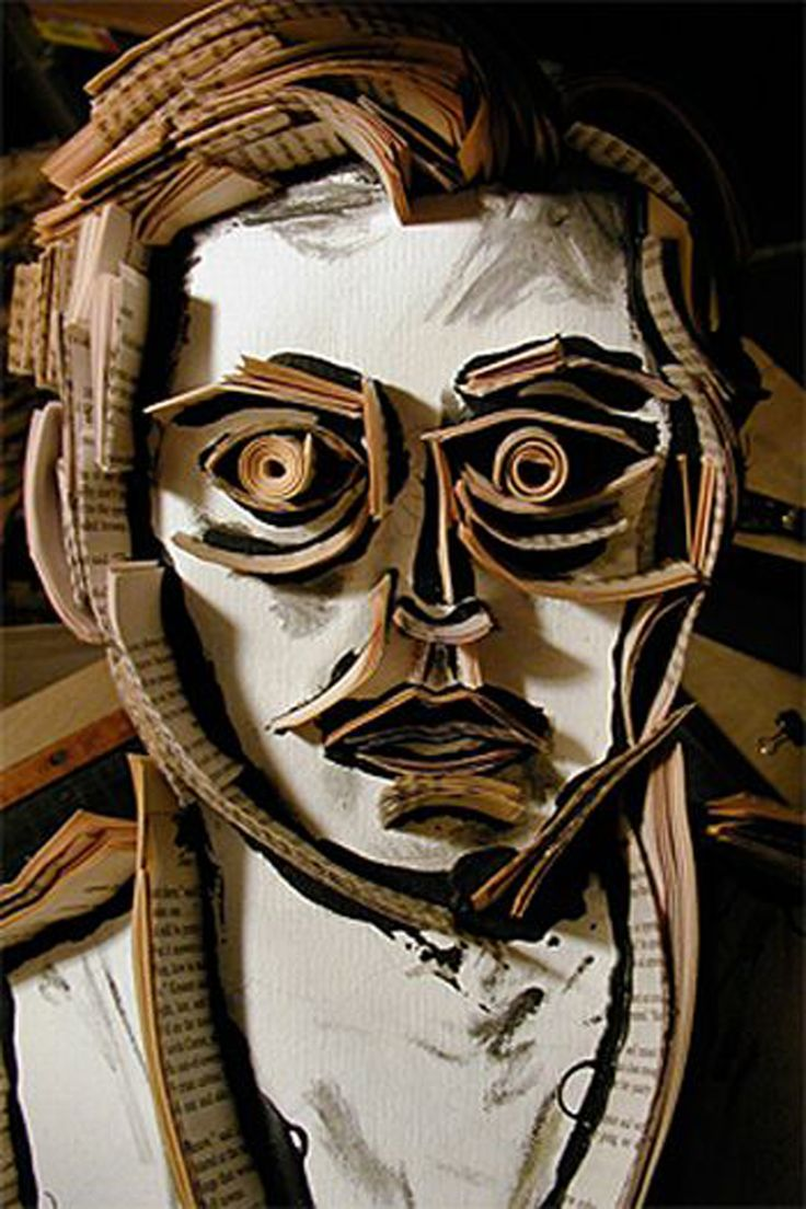 cardboard art projects 3d design | Photo Description and Details : iroonie.com http://www.pinterest.com/bakerswife/teach-me-sculpture/