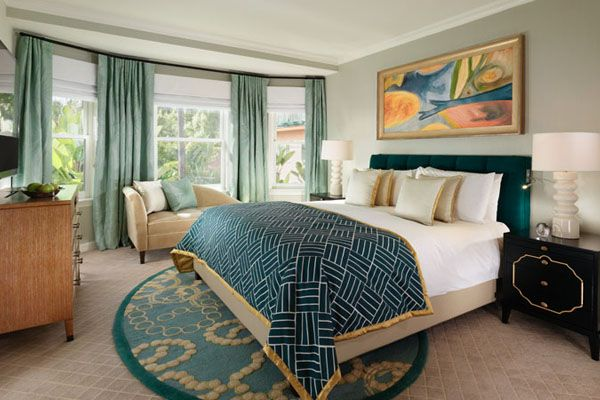Historic Suite Bedroom at The Beverly Hills Hotel