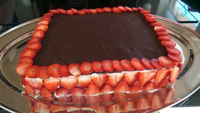 Fødselsdagslagkage til 20
