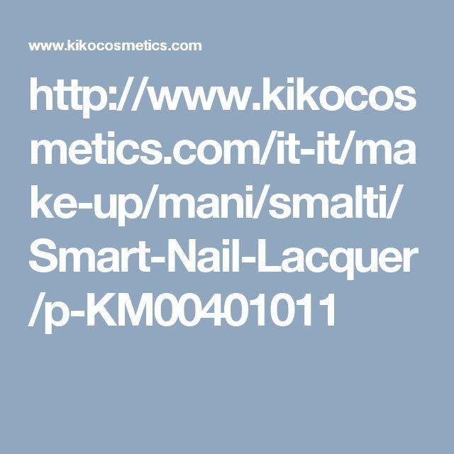 http://www.kikocosmetics.com/it-it/make-up/mani/smalti/Smart-Nail-Lacquer/p-KM00401011