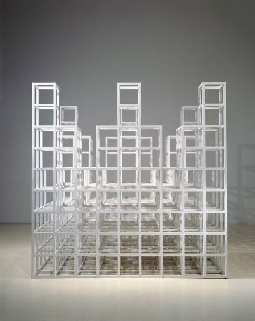 Sol LeWitt, Six Towers 1987