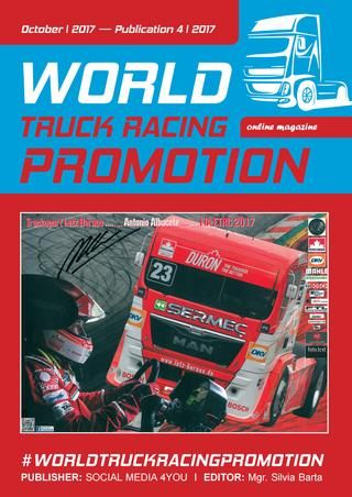WORLD TRUCK RACING PROMOTION - October 2017  WORLD TRUCK RACING PROMOTION