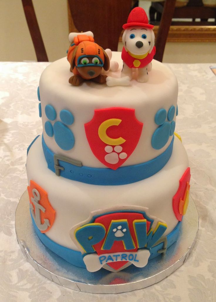 PAW Patrol Birthday Cake | Kaylynn Cakes: Birthday Cakes ...
