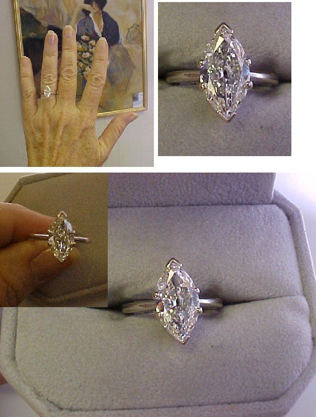marquise diamond ring setting- this is the same shape diamond my mom has and I have always loved it! You rarely see this shape anymore.