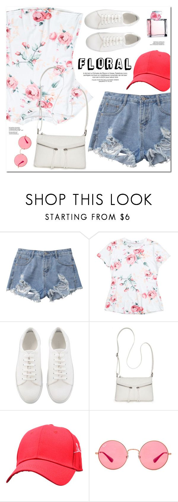 """""""Floral"""" by oshint ❤ liked on Polyvore featuring Bueno, Ray-Ban and Ralph Lauren"""