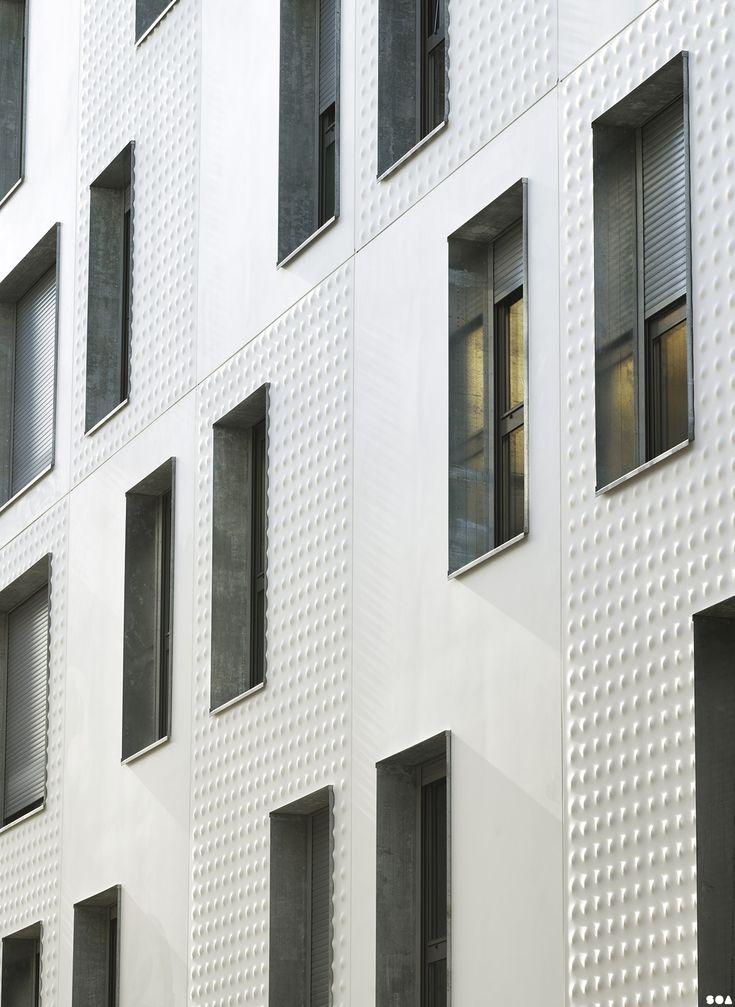 Ebrasement de baies Galva _ SOA Architectes Paris > Projets > THERMOPYLES