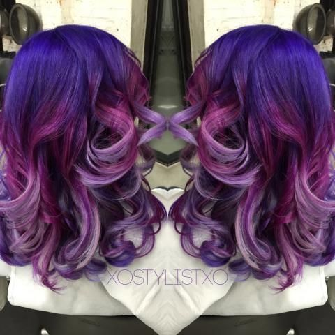 FORMULA: Purple To Lavender Color Melt   Modern Salon