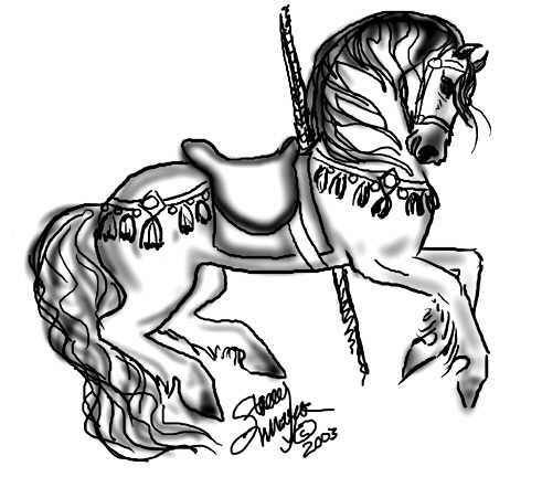 The Arabian Horse PagesTM Shares Drawings Of Animals From Around World For You To Print And Color By Artist Stacey Mayer