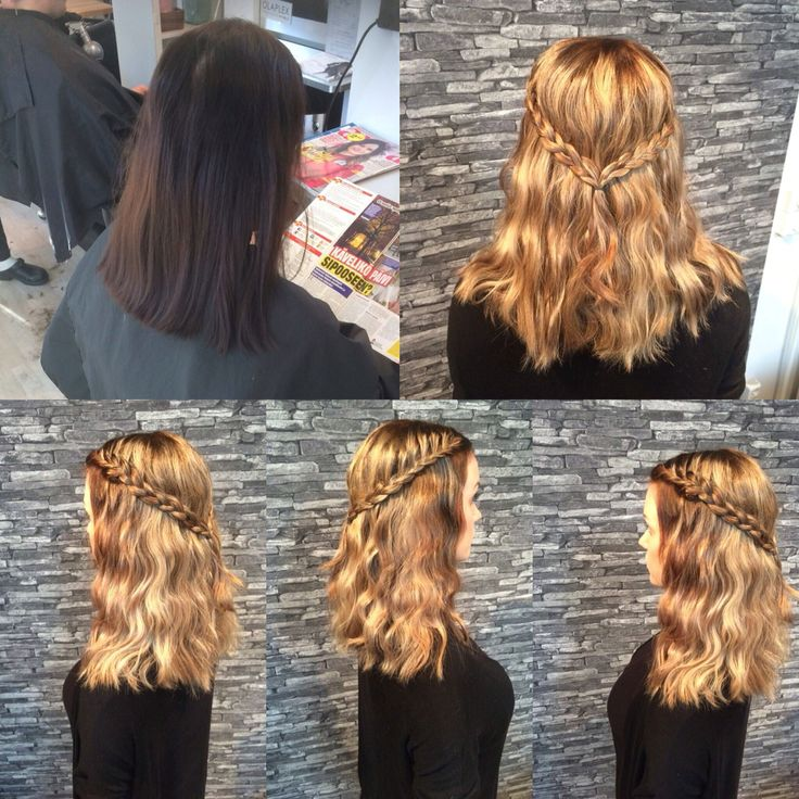 From black to gold  made by Cafe Salon
