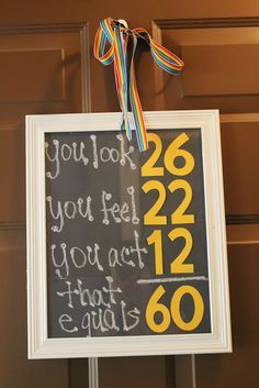 60 birthday party decor for dad - Google Search