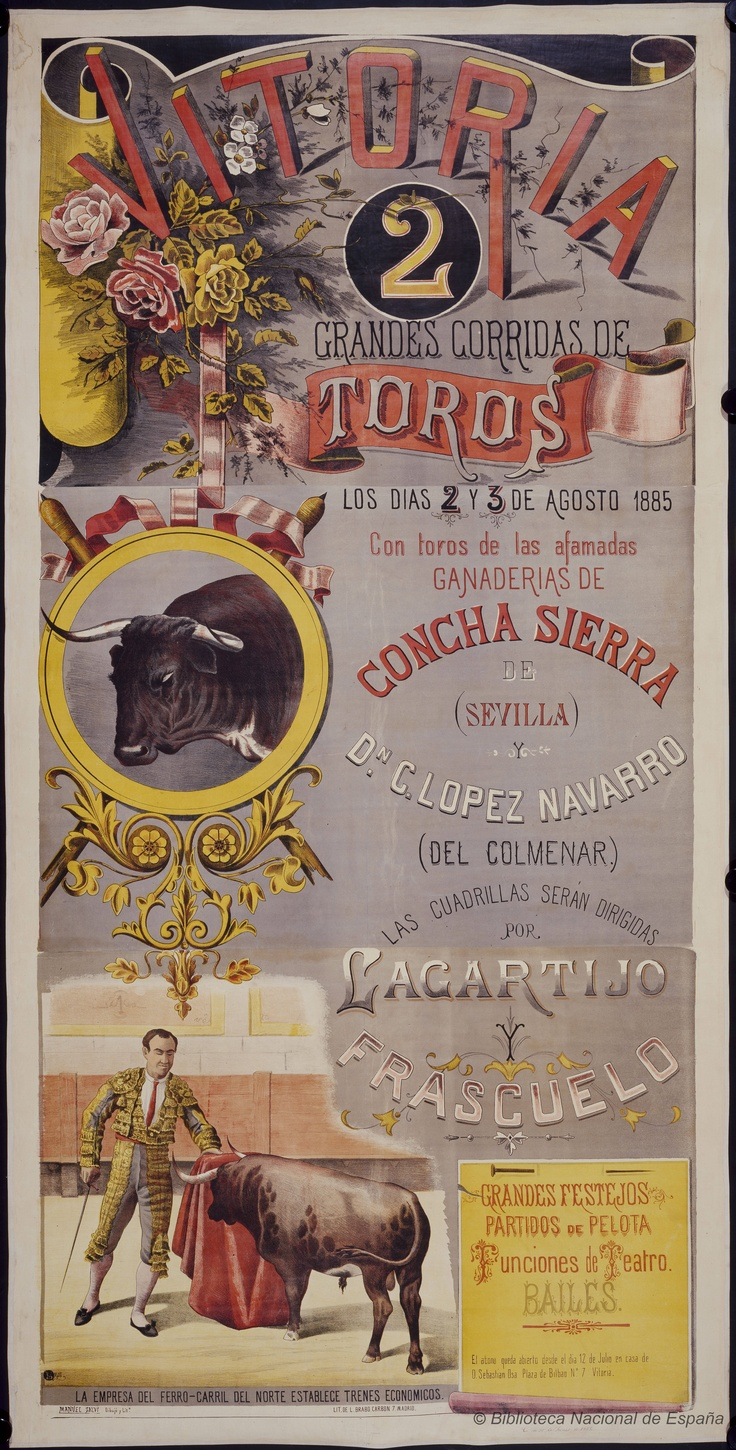 Excellent and Beautiful Old Bullfight Posters - Retronaut