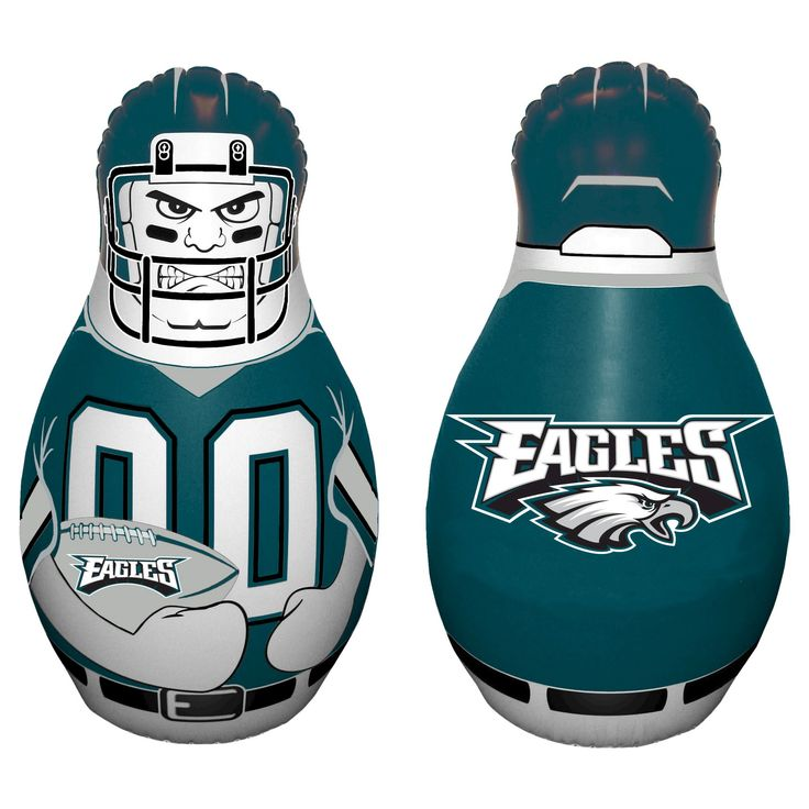 NFL Philadelphia Eagles Tackle Buddy Inflatable Punching Bag,