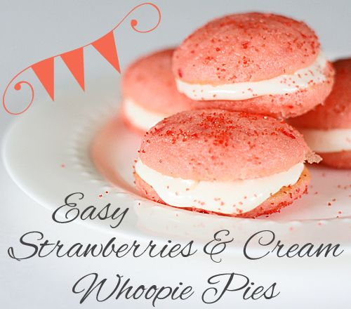 Hi Mom4Real readers! I'm Gina from The Shabby Creek Cottage.My blog is all about finding easy ways to eat, make and decorate to make live a little sweeter. Today I'm going to share a fake-out recipe that looks and tastes amazing, but it's super easy to make! Strawberries & Cream Whoopie Pies – oh doesn't …