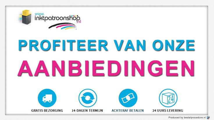 Profiteer van onze aanbiedingen – Inktpatroonshop.nl