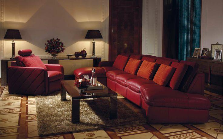 Zestaw mebli / Sofa and armchair Kler Accordo