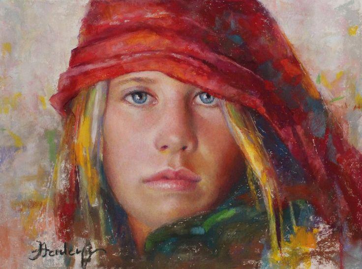 Denise Henley | Portrait painter | Tutt'Art@ | Pittura * Scultura * Poesia…