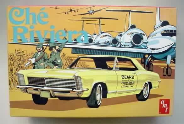 AMT - Che Riviera model kit | model kit boxes (AMT ...